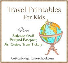 Fantastic travel printables for airport/ travel dramatic play & speech therapy a. - Fantastic travel printables for airport/ travel dramatic play & speech therapy activities – suitc - Passport Template, Passport Stamps, Around The World Theme, Holidays Around The World, Travel Activities, Travel Themes, Airplane Activities, Geography Activities, Kid Activities