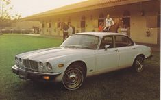 Jaguar XJ Sedan, advertising postcard, USA, # n.a., 1977