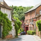 England Travel Inspiration - Clare, Suffolk - awesome 3 story antique store, and I've been there!