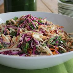 Vegetable Coleslaw - Barefoot Contessa