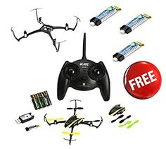 New Blade Nano QX RTF QuadCopter w 4 EFlite Battery  Crash Kit Combo  BLH7600 -- Continue to the product at the image link.Note:It is affiliate link to Amazon.