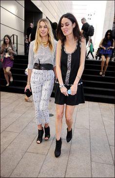 Jessica Hart & Nicole Trunfio, Manhattan NYC. Just a Couple of Aussie Girls....Aussie Aussie Aussie! OI OI OI!