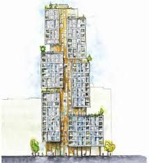 Image result for high rise residential floor plan