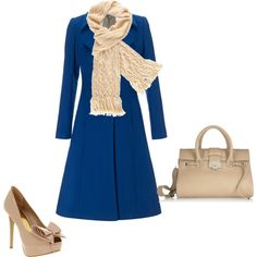 Love love love the color of this coat!  And affordable too!  Love the shoes but wouldn't make it too long in those.