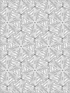 Dover Publications Creative Haven Techellations Coloring Book