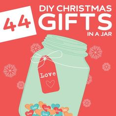 44 Creative DIY Christmas Gifts in a Jar- OMG, I love this! So many great ideas.