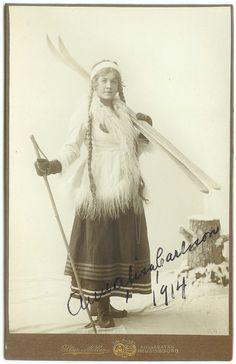 Anna-lisa Carlsson, Helsingborg, Sweden, 1914