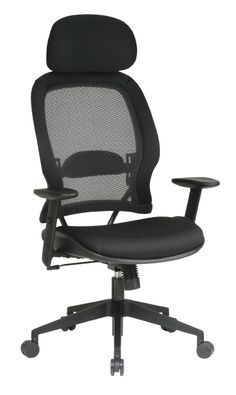 Air Grid Mesh Chair with Headrest PNo 55403 Adjustable Home Desk Chairs Furniture