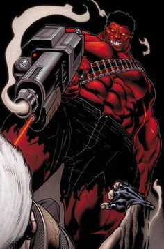 #Red #Hulk #Fan #Art. (Avengers X Sanction #2 page18) By: Ed McGuinness. (THE * 5 * STÅR * ÅWARD * OF: * AW YEAH, IT'S MAJOR ÅWESOMENESS!!!™) ÅÅÅ+