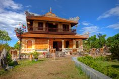 Stock Photo : Colonial Building in the Imperial City (Citadel), Hue, Vietnam Vietnam Tours, Natural Highlights, Royalty Free Images, Homesteading, Colonial, Hue, Discovery, Cabin, Stock Photos
