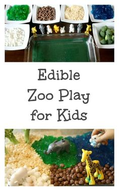 Edible Zoo Play for