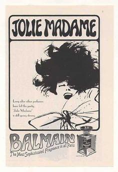 Balmain Jolie Madame Perfume (1965)