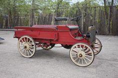 """1908 GALLOWAY """"DUAL PURPOSE VEHICLE"""" HIGHWHEELER STATION WAGON"""