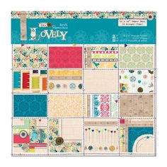 """Sew Lovely - 12x12"""" Paper Pack"""