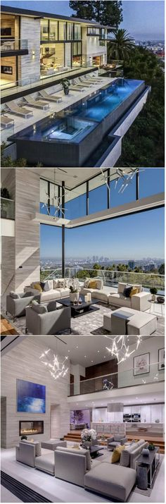 Sophisticated Hollywood Hills Home with Dramatic Views of Los Angeles A sophisticated home in Hollywood Hills featuring a breathtaking view of the city.     Who says you cannot build a home on top of a hill? With the level of creativity and initiative of architects and engineers, nothing is...