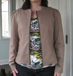 Floral Tie, Sweaters, Projects, Jackets, Fashion, Floral Lace, Down Jackets, Moda, Pullover