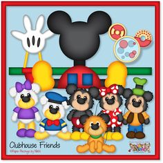 PPbN Designs - Clubhouse Friends (40% off for Members), $0.90 (http://www.ppbndesigns.com/clubhouse-friends/)