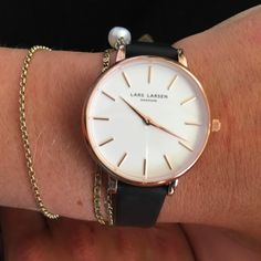 New rose beauty from Line #LW46 www.larsenwatches.com