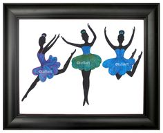 The Three Dancers in Blue Buy at Etsy https://www.etsy.com/listing/240847226/dancers-in-blue?ref=listing-shop-header-0 Follow on Instagram and Twitter @tulisart Like page on Facebook Tuli Art