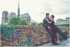 mimi & eddy Paris Pre Wedding near Cathédrale Notre Dame de Paris