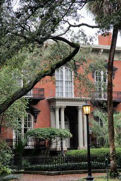 The Mercer house in Savannah Georgia