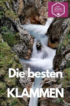 --> KLAMM WANDERN ❤ das sind die Schönsten Austria, Travel Inspiration, Travel Destinations, Waterfall, Camping, Outdoor, Wallis, Bergen, Walks