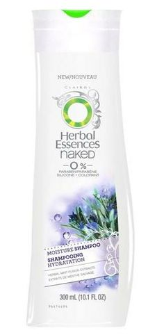 herbal essences naked: same great smell without silicone and parabens #hair