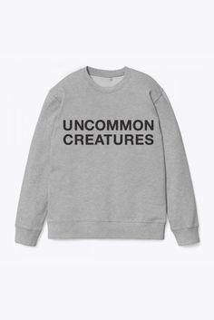 Grey Logo sweatshirt, Uncommon creatures, 499 kr.