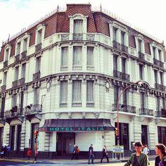 Hotel Italia. Hoy en proceso de remodelación #bahiablanca #arquitectura #argentina #siglo20