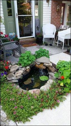 65 Ideas De Fuente Casera Fuentes Para Jardin Fuente Casera Fuentes De Agua