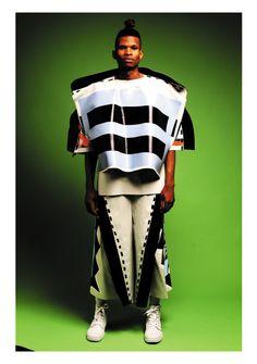 Beth Postle's Thick Black Mark | BA Final Collections, Fashion, Graduates | 1 Granary