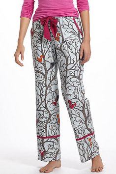 Anthro squirrel PJ pants