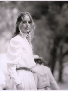Anne-Louise Lambert as Miranda in the 1975 film Picnic at Hanging Rock.