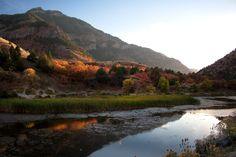Logan Canyon, Utah Autumn Eve by Nathan Smith