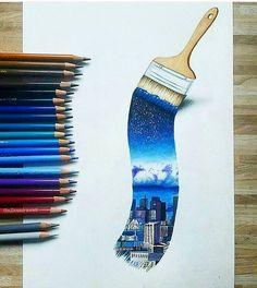 "6,926 Synes godt om, 19 kommentarer – BuzzFeed DIY (@buzzfeeddiy) på Instagram: ""Paint your portal (:@milenadrawws)"""