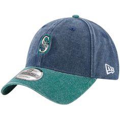 Men's Seattle Mariners New Era Navy Rugged 9TWENTY Adjustable Hat