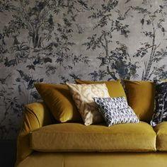 Silk Wallpaper - Jim Thompson Fabrics