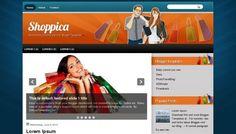 Shoppica Blogger template.
