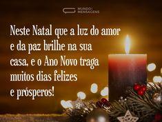 Natal de paz e Ano Novo próspero
