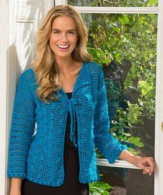 Ravelry: Year-Round Bobble Cardigan pattern by Ann Regis