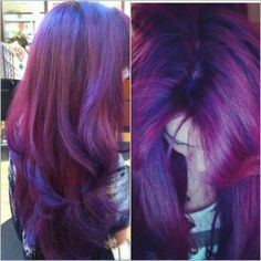 I like the color, the style & the subtle blend of slightly different purple hues around the layers.