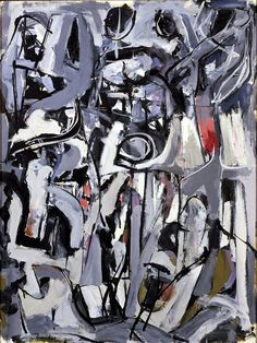 'The Bridge' (1951) by Franz Kline - See this year's fine arts workshops in the Blue Ridge Mountains, available at http://www.cullowheemountainarts.org/