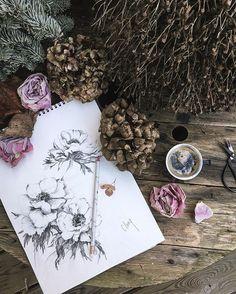 Je dessine des anémones en attendant de les découvrir dans le jardin ☕️ #coffeeandseasons ✨#bonjour #cettesemainesurinstagram #cartepostale #découvrirensemble  #vzcomood #click_vision #dontsnapshoot  #bdteam  #igworldclub  #tv_living  #huffpostgram #paris  #magfr_sfhf  #coffeelovers #artofvisuals #coffeelover #flowers  #stilllifeisreallife #sunday_sundries #hydrangea #petalsandprops #feelfreefeed #instagram #tv_stilllife #lesphotographes #vzcomood #heart_imprint #vzcotone #huaweishot…