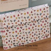 "Free shiipping ""english words"" paper envelope for wedding gift envelopes vintage airmail envelopes diy scrapbooking 17.5*12.5cm"