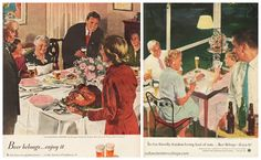 Thanksgiving in the 1940s