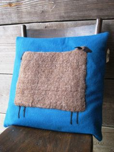 another wooly sheep pillow @Amanda Snelson Snelson Snelson Snelson Snelson Mabry hollow farm