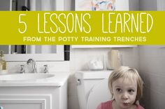What worked (and didn't work) for us when it came to potty training.