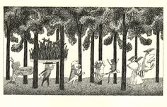 Edward Lear's 'The Jumblies'. Illustrated by Edward Gorey, 1986.