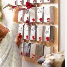 35 DIY Advent Calendar Ideas To Countdown The Days 'Til Christmas Glitter and Caffeine - Diy Gifts Advent Calendar Fillers, Cool Advent Calendars, Advent Calendar Gifts, Homemade Advent Calendars, Christmas Tree Advent Calendar, Beauty Advent Calendar, Christmas Alphabet, Advent Calenders, Calendar Ideas