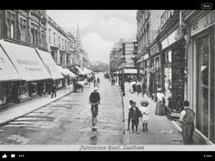 Palmerston Road, Southsea City Slickers, Isle Of Wight, Portsmouth, Beautiful Places To Visit, Back In The Day, Hampshire, Old Photos, Lonely, The Past